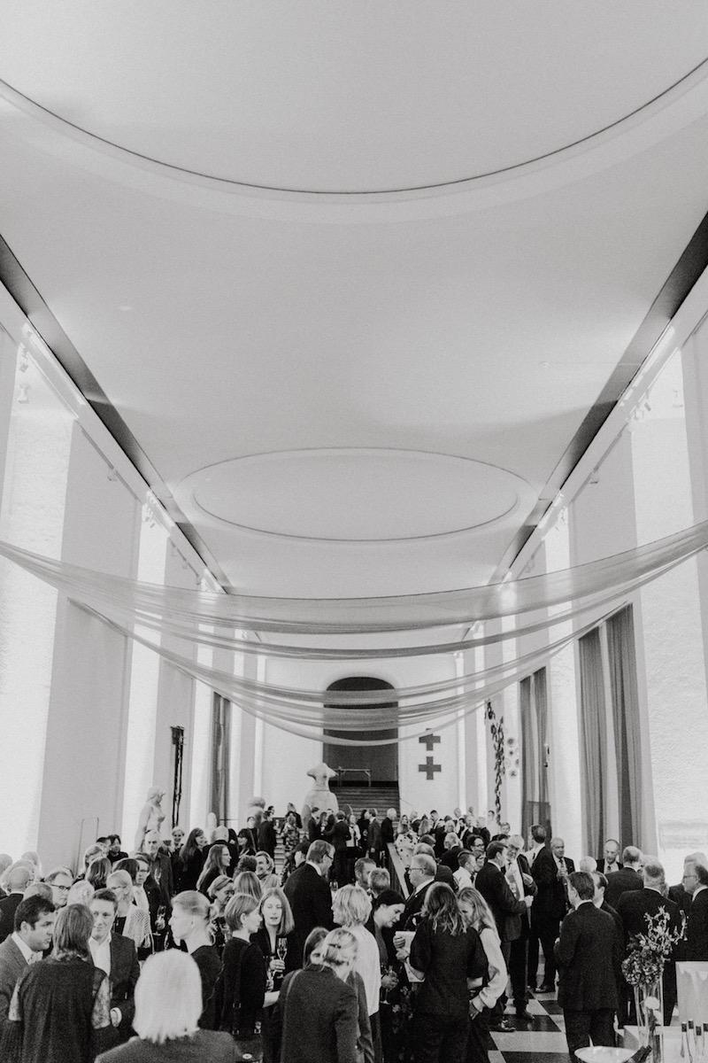 Hasselblad Foundation delar lokaler med Göteborgs Konstmuseum där kvällens festligheter hölls