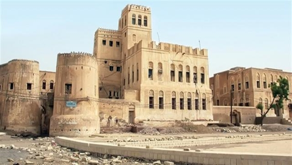 The library in Zabid, Yemen, that was looted by Houthi rebels. Image: Alsahwa Yemen