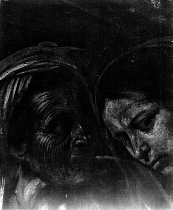 Radiographie du tableau Courtesy Cabinet Éric Turquin, Paris Image via Le Quotidien de l'Art