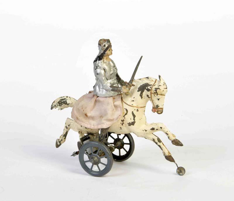 GÜNTHERMANN Jeanne d'Arc auf Pferd