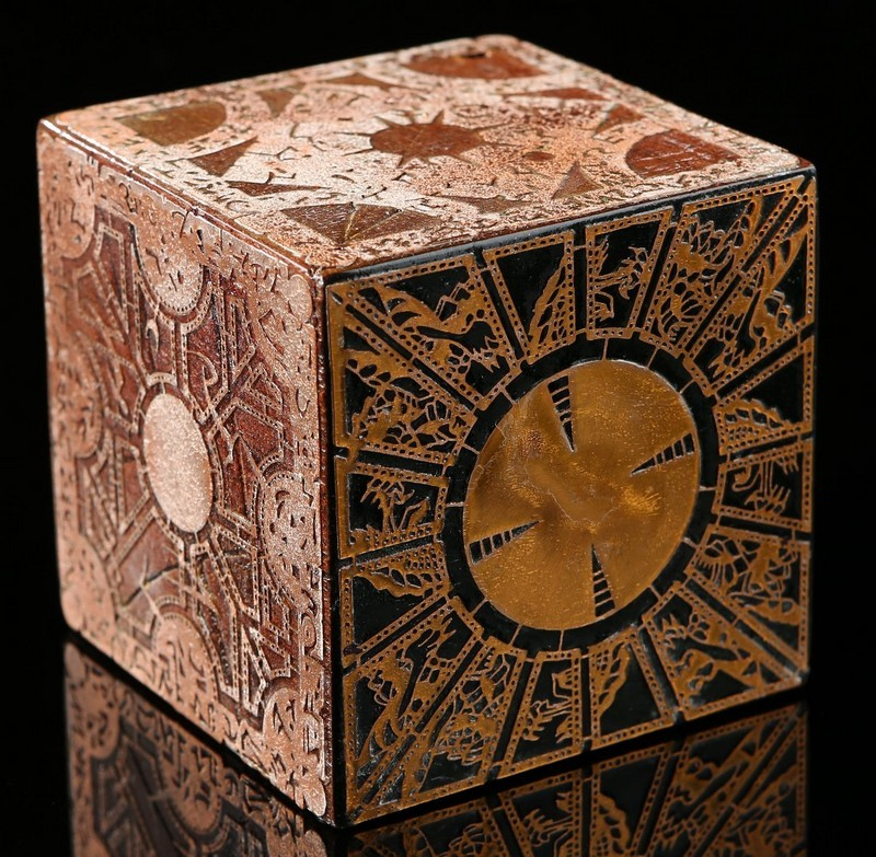 Lemarchandboxen. Bild: Prop Store