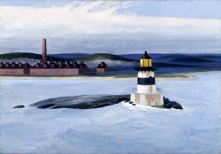 Edward Hopper, « Five A.M», image via Pinterest