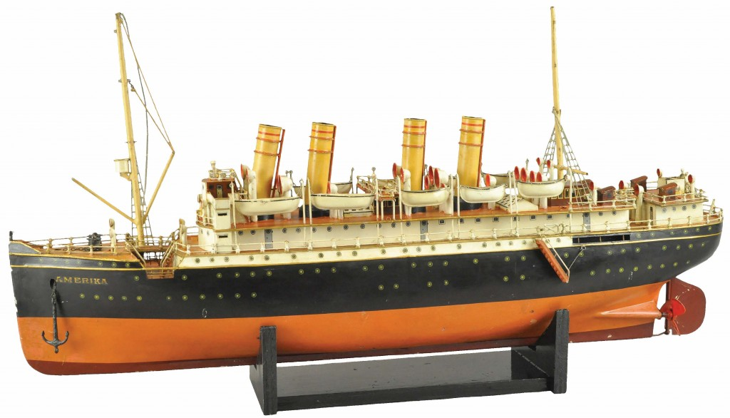Marklin toy oceanliner