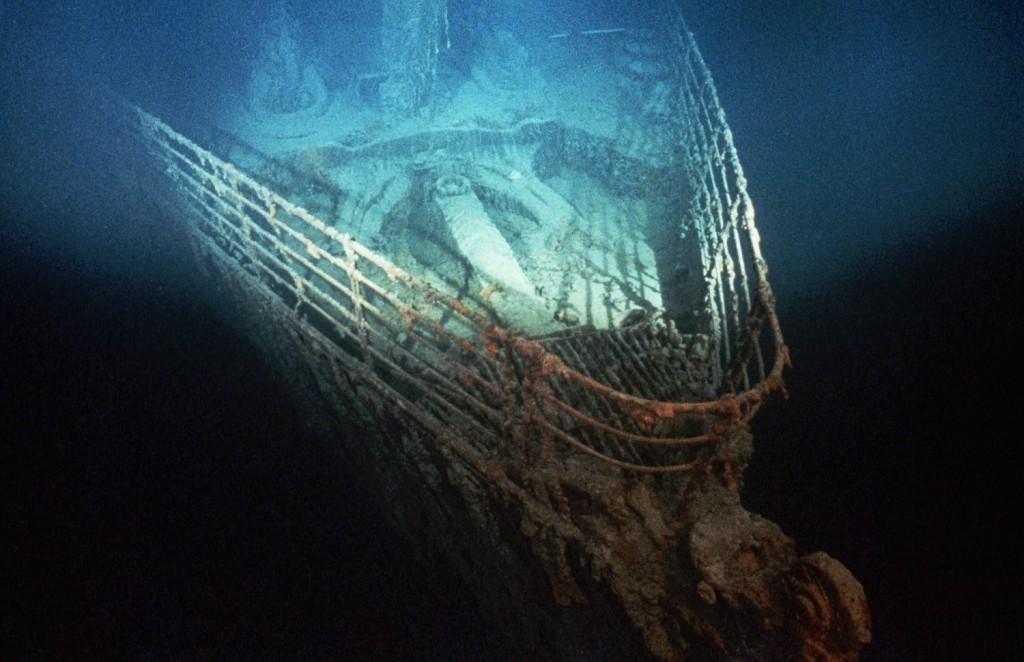 Il relitto del Titanic. Foto: Ralph White