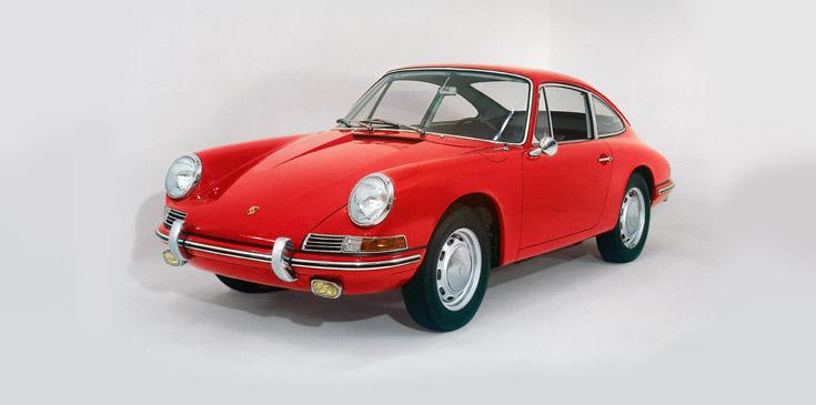 Der Porsche 911 ging 1964 in Serie | Foto: porsche.com