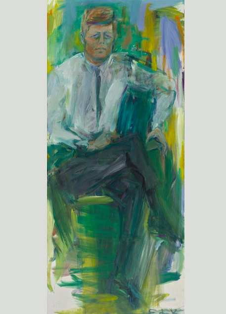ELAINE DE KOONING. John F. Kennedy (1963)