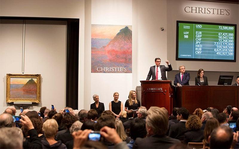 Claude Monet en Christie's