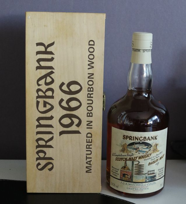 Springbank 1966 Single Malt Scotch Whisky 32 Jahre