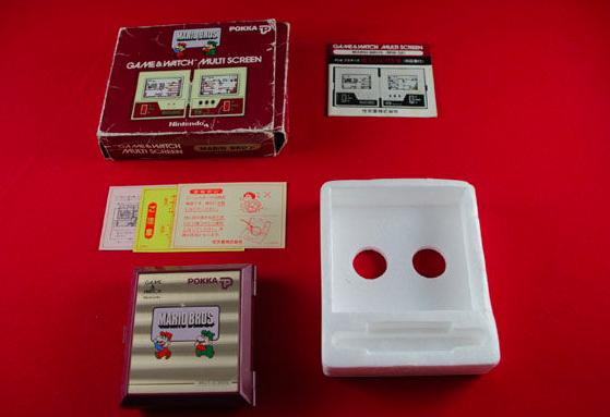 Nintendo Game & Watch - Mario Bros. (Multi Screen Pokka) En vente chez Catawiki