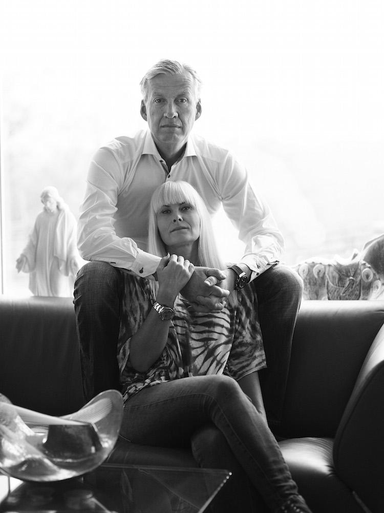 Hans och Petra Wallenstam