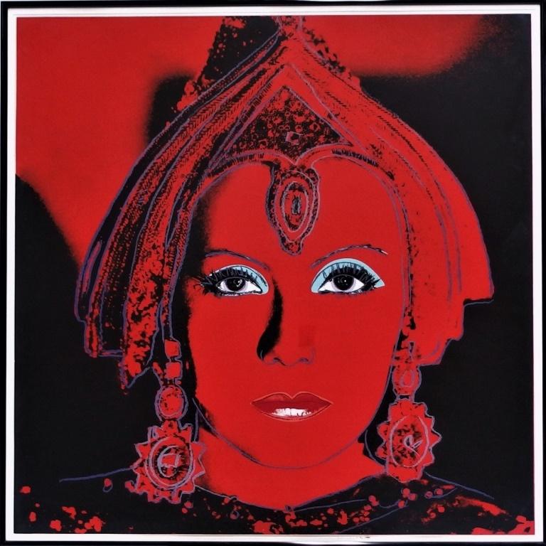 Andy Warhol screenprint