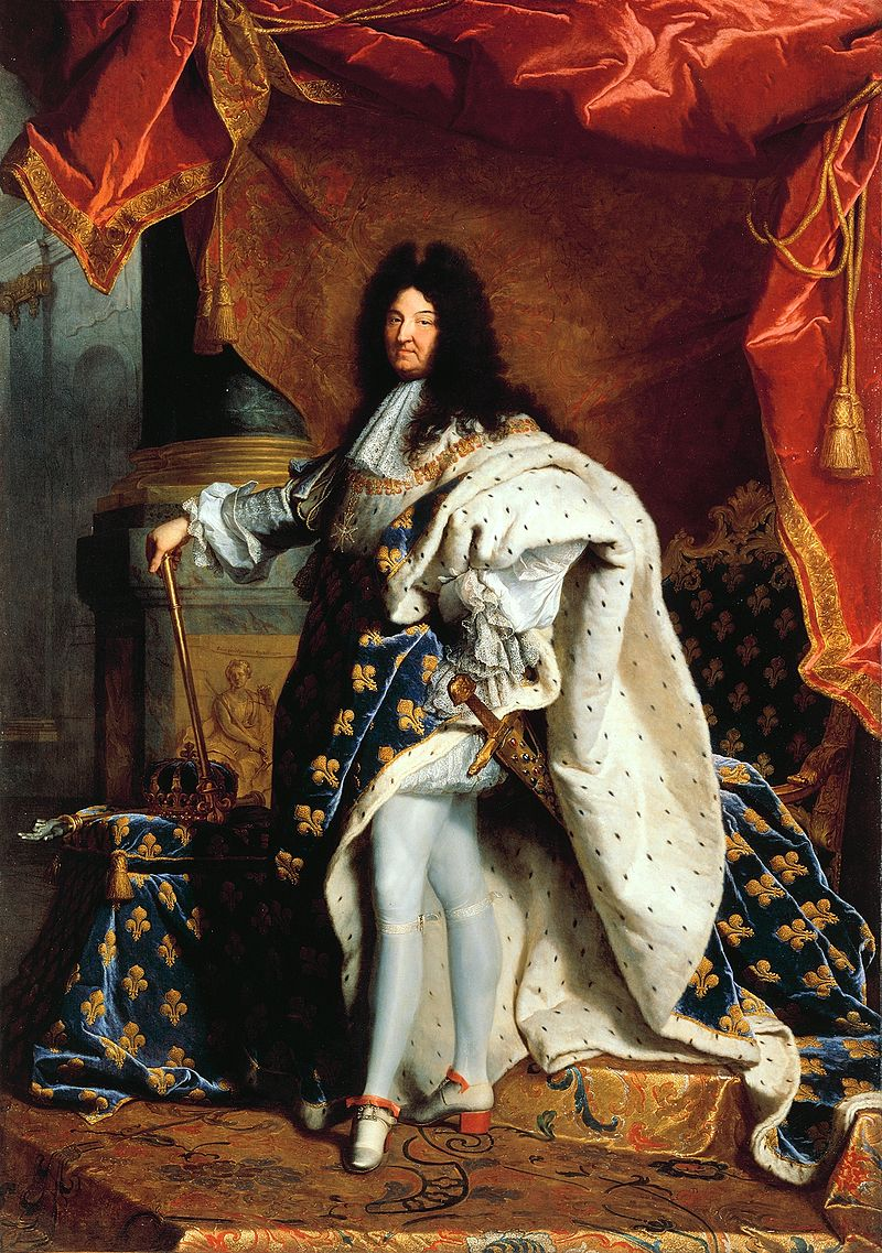 Louis XIV, Roi de France en costume de sacre