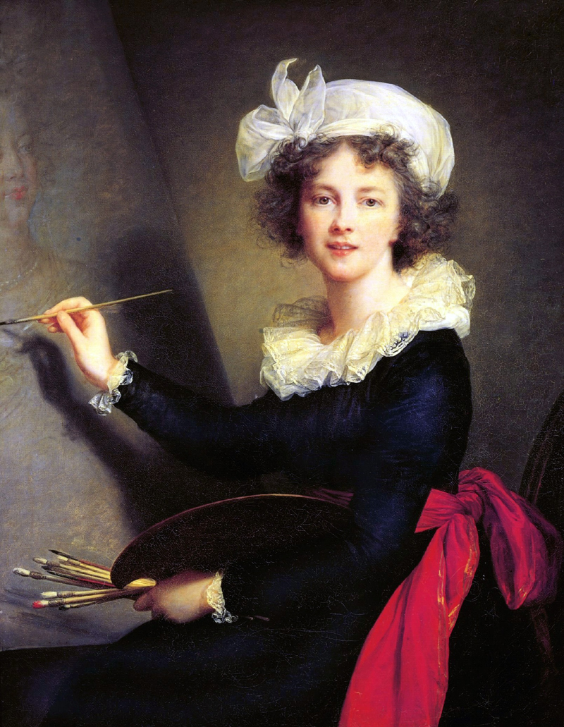 Louise Élisabeth Vigée Le Brun, självporträtt (1790) Foto: Huffingtonpost.com