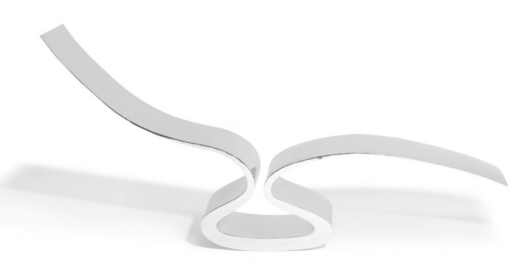 """Ron Arad, Couch """"After Spring"""", steel, 1992"""