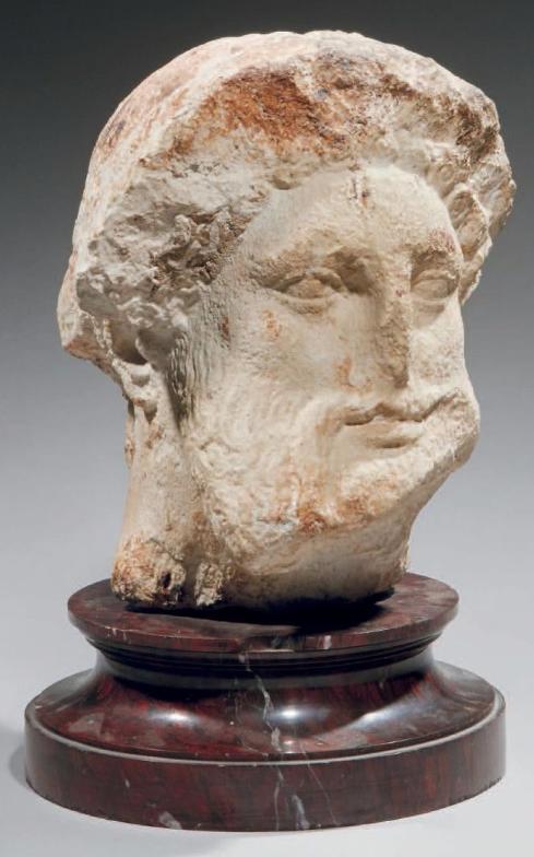 Tête d'Hermès de type classique Ier-IIe siècle