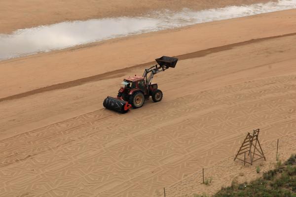 Sandprint at Laga beach (2012) Gunilla Klingberg
