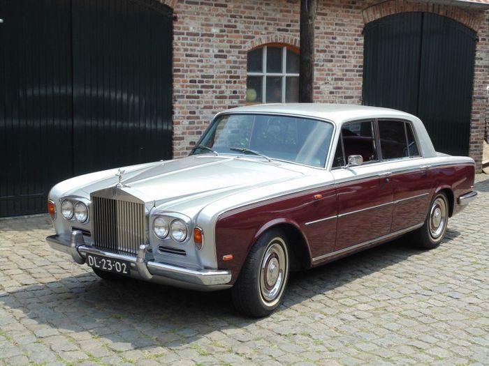 Rolls-Royce, Silver Shadow I, 1968. Utropspris: 250 000 - 327 000 kronor.