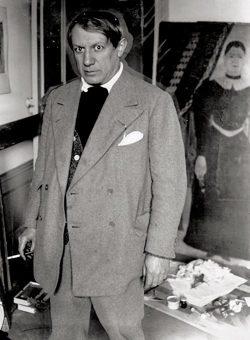 Picasso dans son studio au 23 rue La Boétie à Paris Brassaï  Bassenge Estimation Basse: 4 500 €