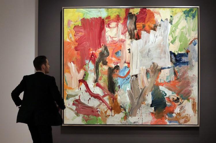 "Rekordmålningen - William de Koonings ""Untitled XXV"""