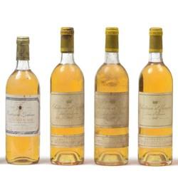 Sauternes. Château d'Yquem. 1987. 1 bouteille. Niveau haut de l'épaule Magnin-Wedry