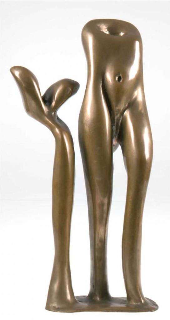 EMIL CIMIOTTI (geb. 1927 Göttingen) - Mannequin, Bronze, H: 42 cm, signiert und nummeriert 20/21 Limitpreis: 1.500 EUR