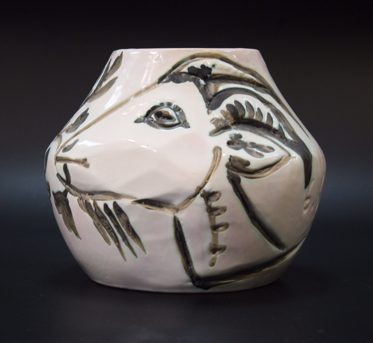 Picasso Rams Head