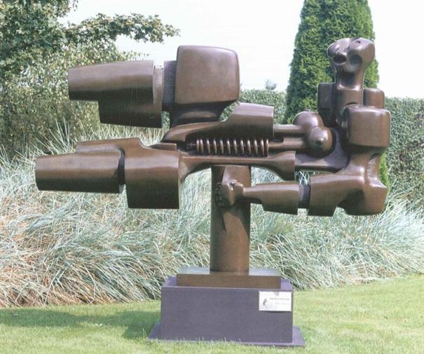 """HENRI LANNOYE - Obsessie, Bronze, Gießerstempel """"Fonderia Mariani - Italy"""", signiert und nummeriert 2/3, 1999"""