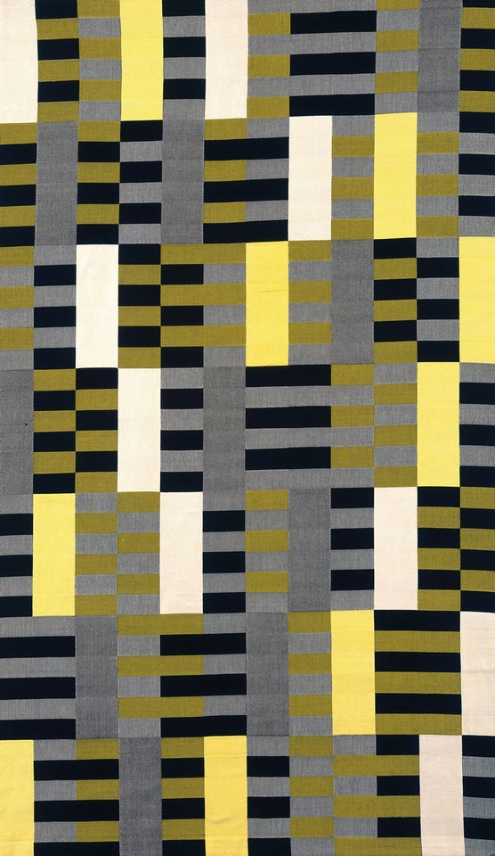 Anni Albers, 'Wall hanging'. 1926. Photo: The Metropolitan Museum of Art, New York/Art Resource, New York/Scala, Florence. © The Josef and Anni Albers Foundation/Artists Rights Society (ARS), New York/DACS, London, 2018