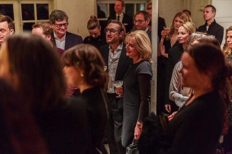 Paul och Jenny McCabe, Lena Josefsson, David Neuman var några av kvällens gäster
