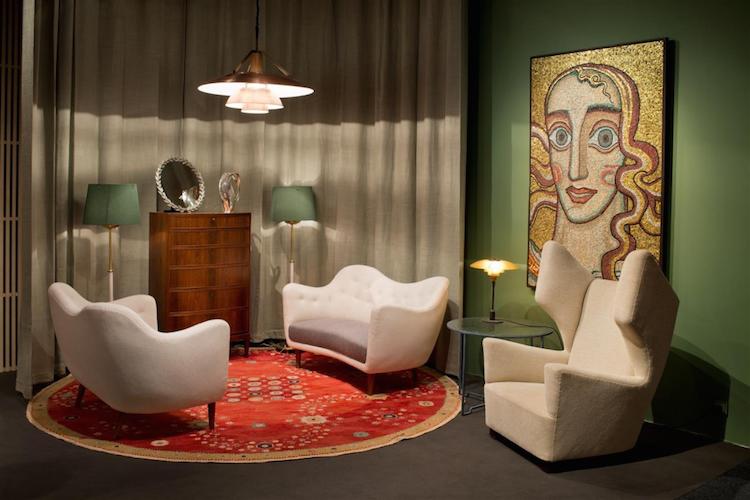 Modernity på PAD i Paris med mosaik av Einar Forseth.