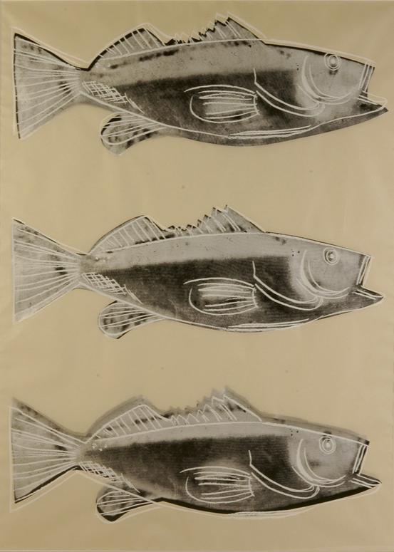 Andy Warhol Fish, 1983