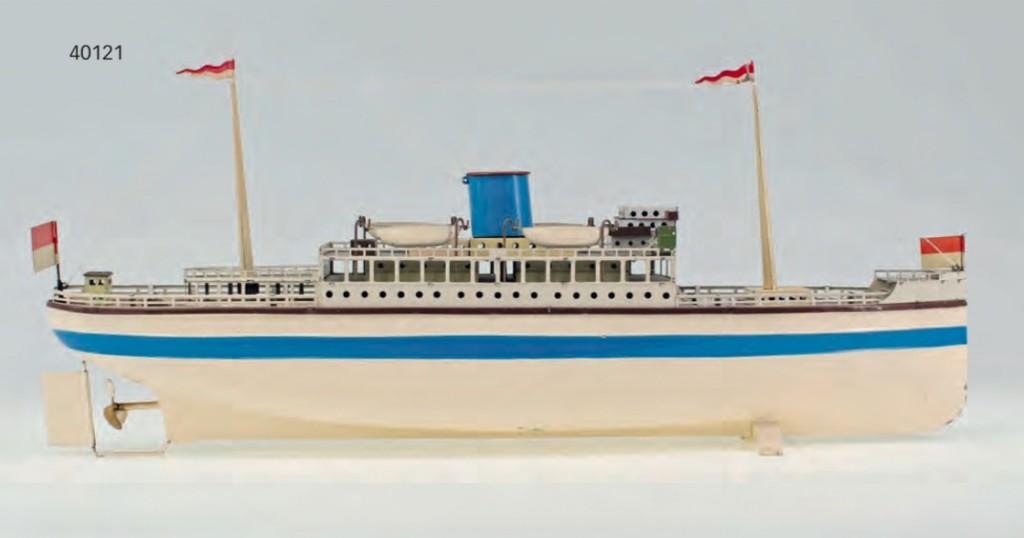 Fleischmann - Seebäder-Dampfer