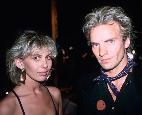 Trudie Styler and Sting in 1982 Image via the Telegraph