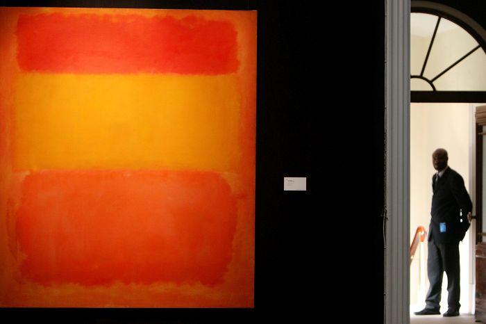 Mark Rothko. Orange, Red, Yellow (1961)