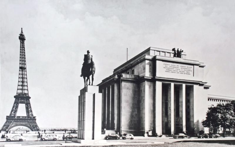 Le Musée de l'Homme se trouve sur la place du Trocadéro, à Paris