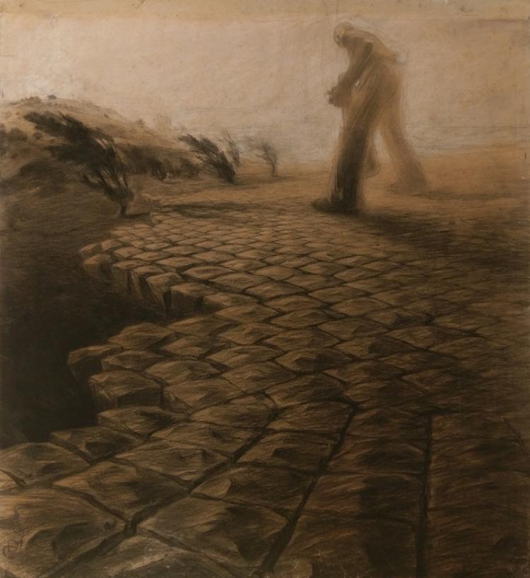La falsa civiltà, Duilio Cambellotti, 1905-1907.