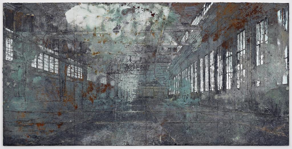 Anselm Kiefer Tempelhof 2010-11, 380 x 760 cm
