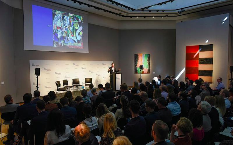 Art + Tech Summit: un'immagine della conferenza. © Christie's