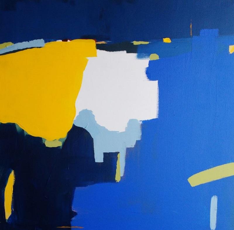 """Leticia García Marañón obra """"Azul"""""""