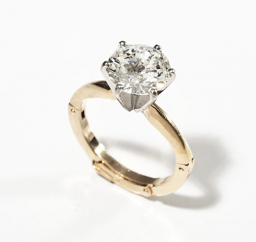14kt 2.16 ct diamond ring