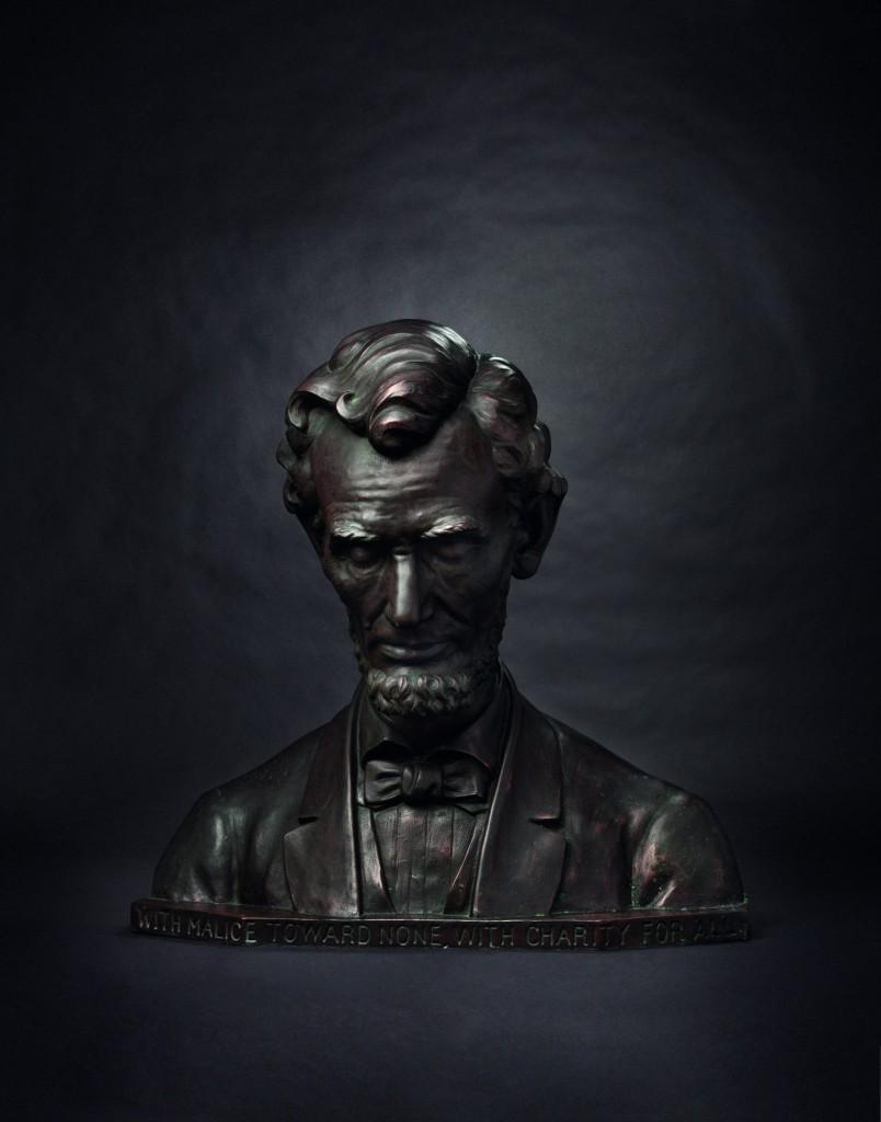 Buste d'Abraham Lincoln Estimation basse: 12 000 €
