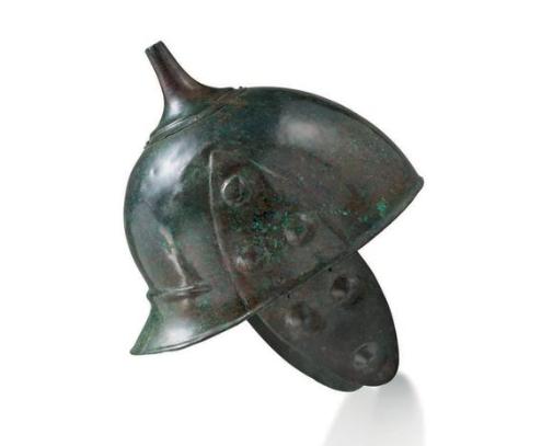 A rare Celtic bronze helmet, circa 3rd century BC