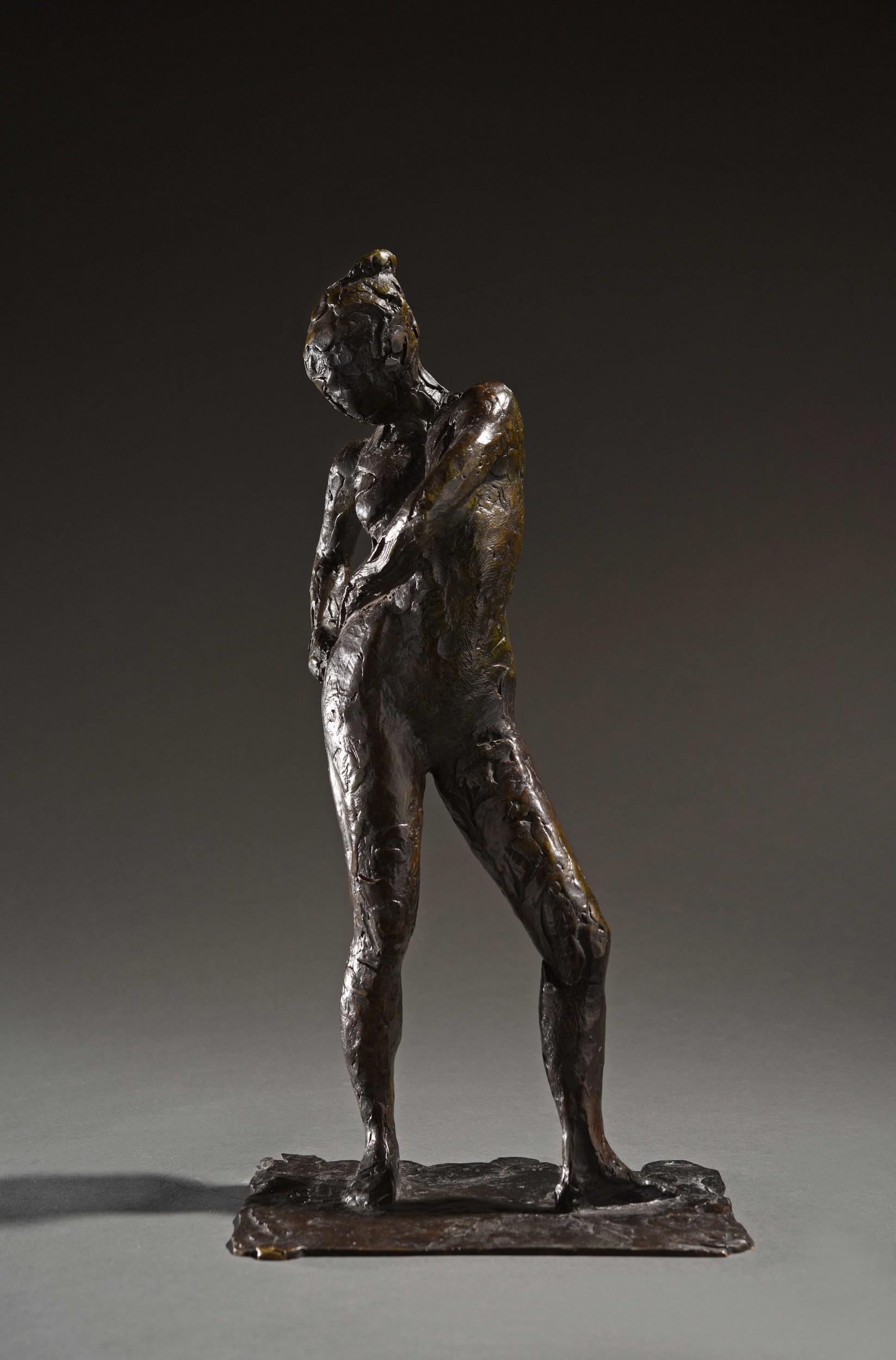 """Edgar Degas, """"Danseuse attachant le cordon de son maillot"""". Foto: ©HVMC."""