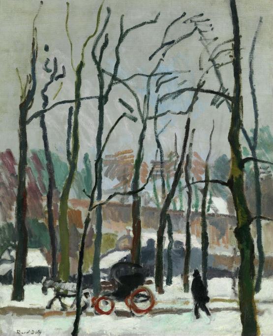 RAOUL DUFY (1877 Le Havre – 1953 Forcalquier) - Calèche à falaise, Öl/Lwd., 78 x 64 cm, signiert, 1905 Schätzpreis: 330.000-360.000 EUR