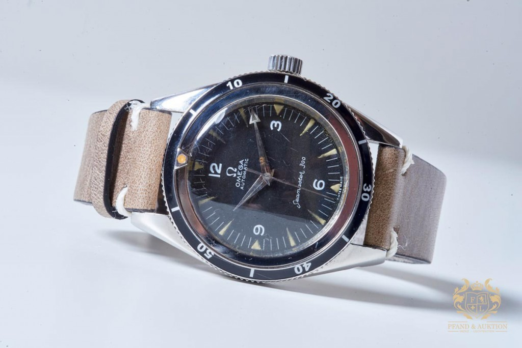 OMEGA - Vintage diving watch, acier, 1958