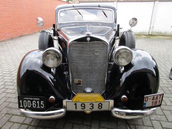 MERCEDES BENZ - 230 Limousine - 1938. Utropspris: 570 000 - 740 000 kronor.