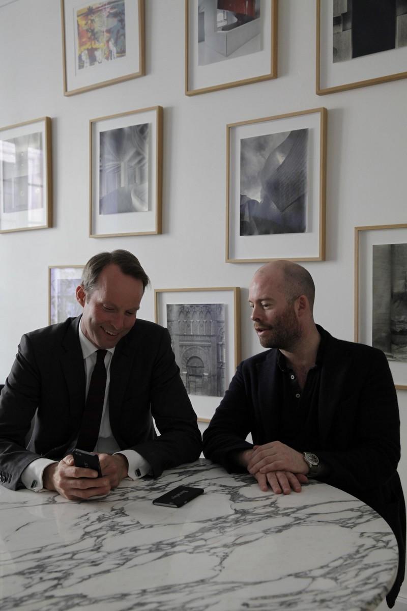 Pontus Silfverstolpe y Christopher Barnekow