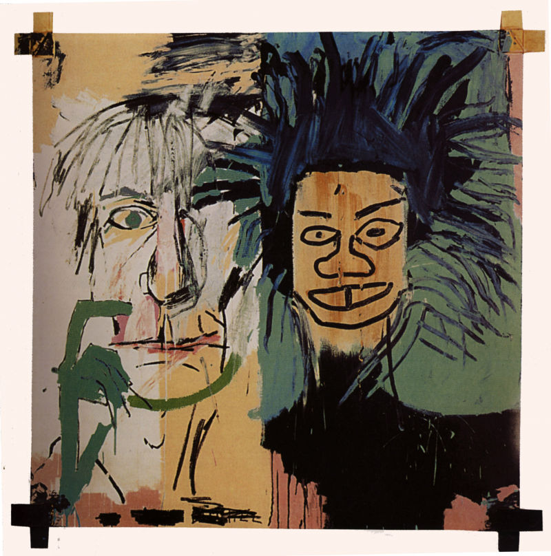 """Dos Cabezas"", 1982 by Jean-Michel Basquiat. Photo: Wikiart.org."