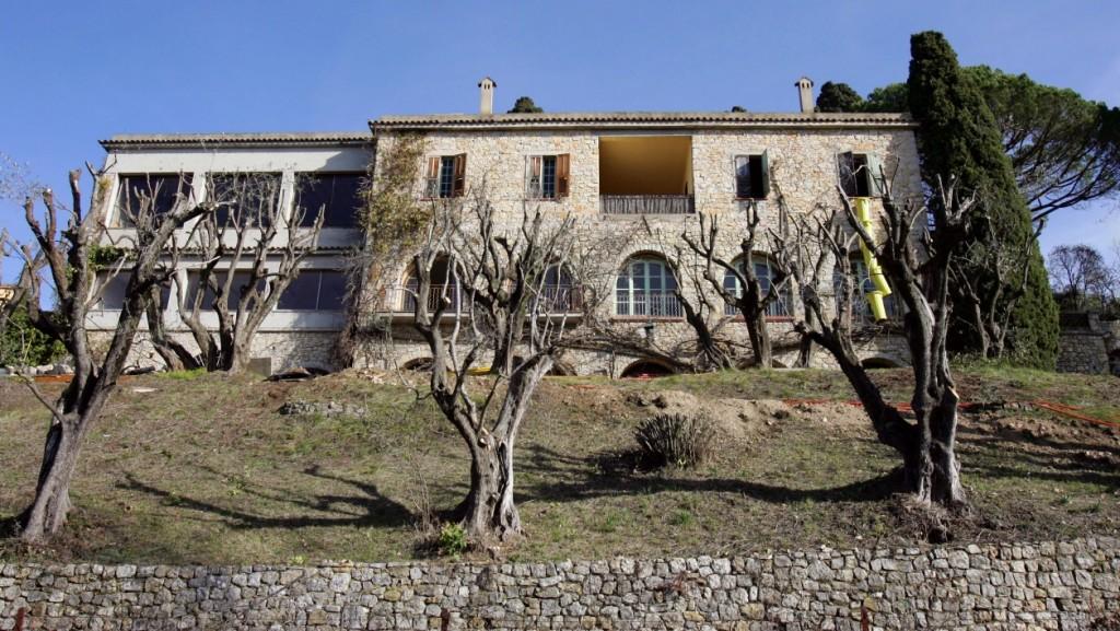 L'ancienne maison de Pablo Picasso est proposée aux enchères Image: Valery Hache - AFP