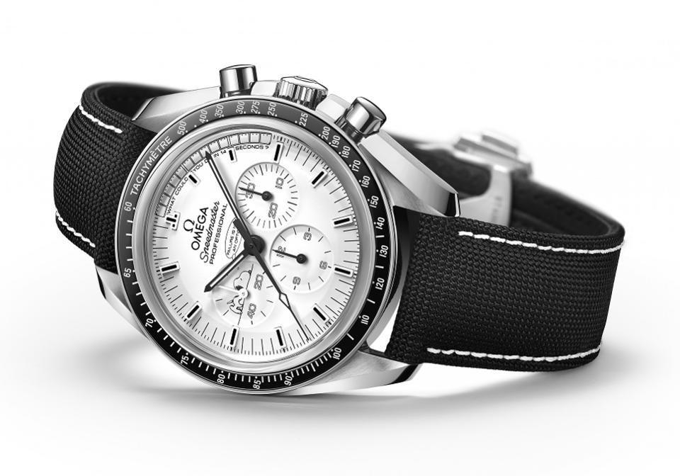 Dieses Uhrenmodell von Omega brachte die Astronauten der Apollo 13-Mission sicher zur Erde zurück
